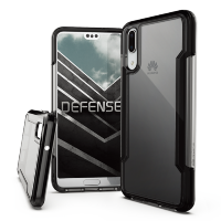 Чехол X-Doria Defense Clear для Huawei P20 Black