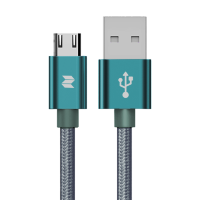 Кабель Rock Space M9 Braided Micro USB to USB